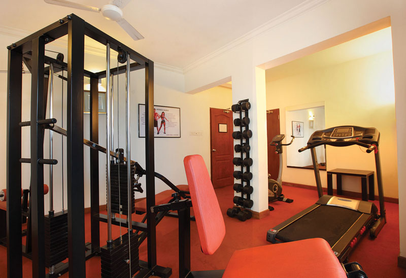 Gym in Park Residency