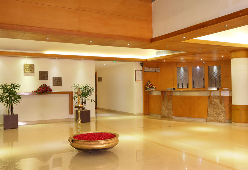 Reception of Hotel Park Residency