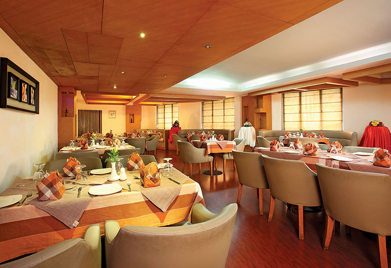 Server Restaurant in Hotel Park Residency
