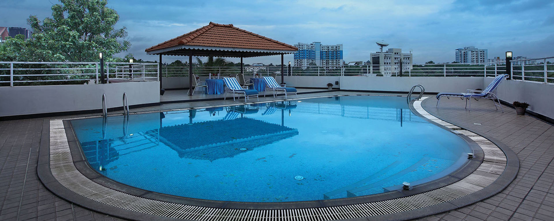 Swimming Pool at Park Residency